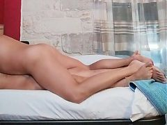 Toyboy fucking milf in hot missionary position